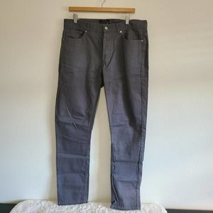 21 Men Gray Slim Fit Standard Jeans 34x32